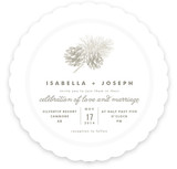 Pine Cones Wedding Invitations
