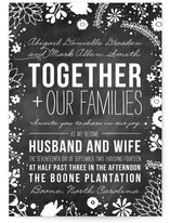 Craft and Florals Wedding Invitations
