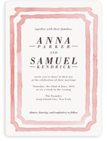 Watercolor Frame Wedding Invitations