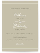 Broderick Wedding Invitations