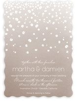 Floral Rain Wedding Invitations