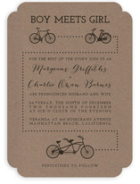 Bicycle Love Wedding Invitations