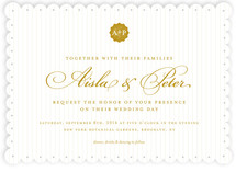 Pinstripes Wedding Invitations