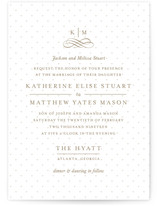 A Glamorous Affair Wedding Invitations