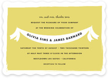 Summer Fete Wedding Invitations