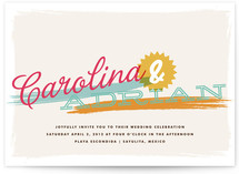 Tropisueno Wedding Invitations