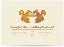 I&#039;m Nuts for You Wedding Invitations