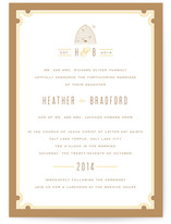 Sweet Honey Wedding Invitations