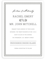 Time and All Eternity Wedding Invitations