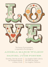 Ornamental Wedding Invitations By Aspacia Henspetter
