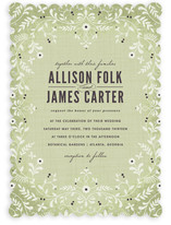 A Midsummer Night's Dream Wedding Invitations