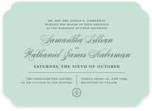 Notable Wedding Invitations