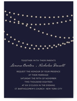 Midnight Vineyard Wedding Invitations