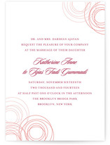 Circles of Love Wedding Invitations