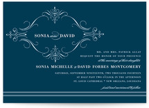French Vintage Wedding Invitations