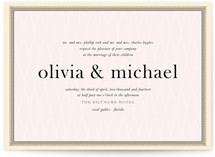 float + framed Wedding Invitations