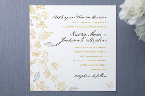 Frolic Wedding Invitations