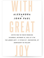 With Great Joy by Up Up Creative
