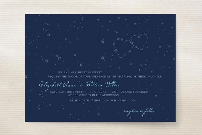 Star Map Wedding Invitations