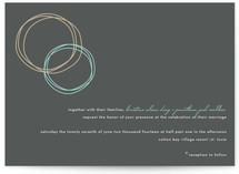Circles Wedding Invitations
