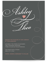 Sweet Swirls Wedding Invitations