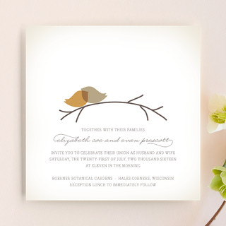 Nestled Wedding Invitations