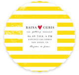 Bold Stripes Wedding Invitations