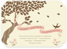 Under the Tree Wedding Invitations