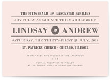 Front Page News Wedding Invitations