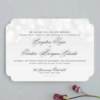 Starry Eyed Wedding Invitations