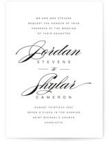 Waltz Wedding Invitations