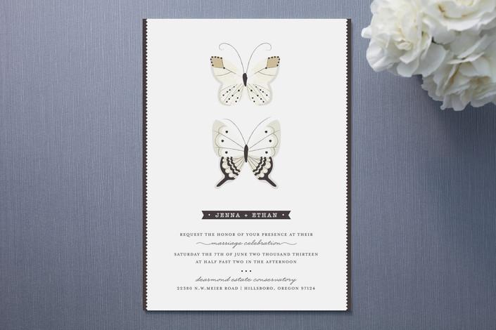 6 Beautiful Butterfly Wedding Invitations – Wedding Invitation Butterfly