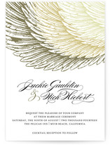 Royal Plumage Wedding Invitations