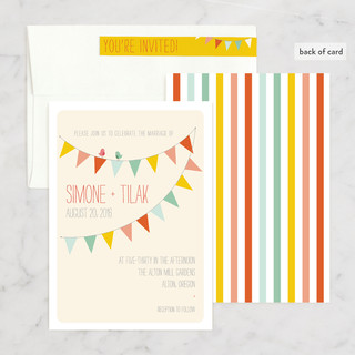 Barn Party Wedding Invitations