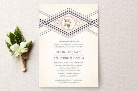 Elegance Entwined Wedding Invitations