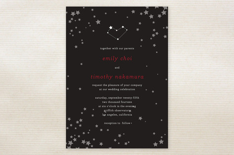 Celestial Wedding Invitations
