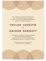fanfare Wedding Invitations