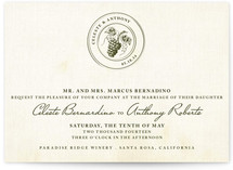 Tuscany Wedding Invitations