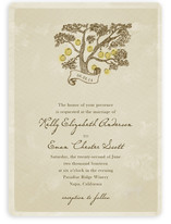 Whimsical Tree with Lanterns Wedding Invitations
