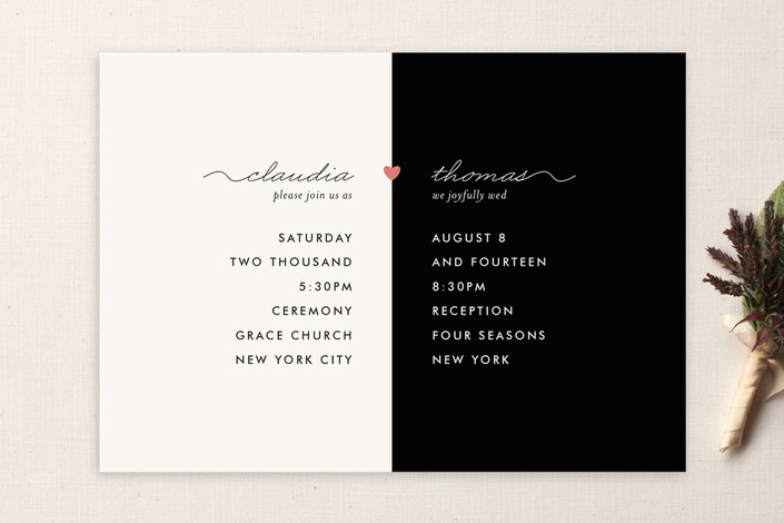 My Other Half Wedding Invitations