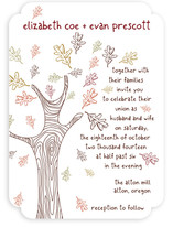 Favorite Season Wedding Invitations