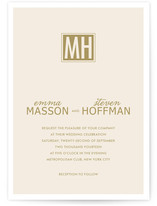 Simple Affair Wedding Invitations