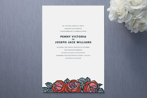 10 stunning modern wedding invitations | indie wedding guide,