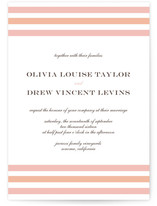 Float + Sweetie Stripe Wedding Invitations