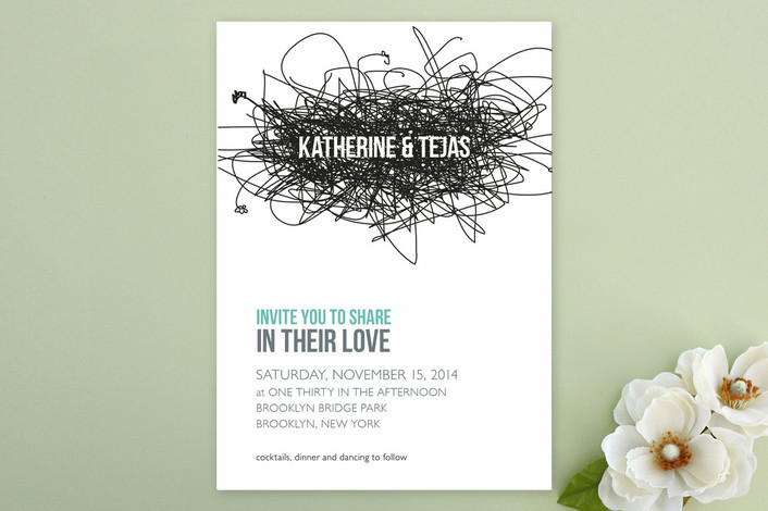 the ultimate indie wedding invitation guide | indie wedding guide,