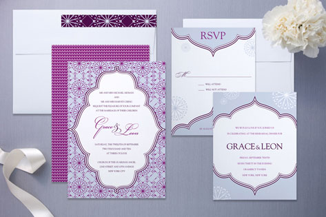 Grace Wedding Invitation by Wiley Valentine