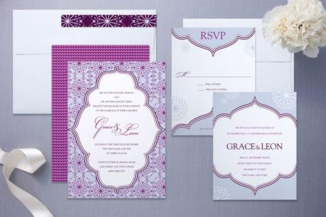 Grace Wedding Invitation by Wiley Valentine