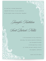 Jennifer Wedding Invitations