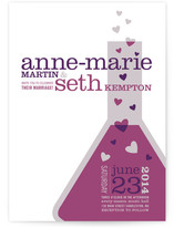 Chemistry Wedding Invitations