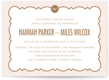 PARISIAN GRAMMAR SCHOOL Wedding Invitations
